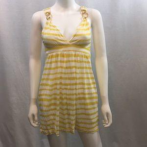 BCBG maxAzria knit sundress with pockets
